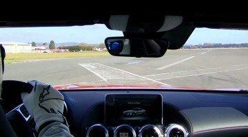 Onboard bij The Stig in de Mercedes AMG GT-S