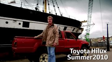 Toyota bedankt Jeremy Clarkson