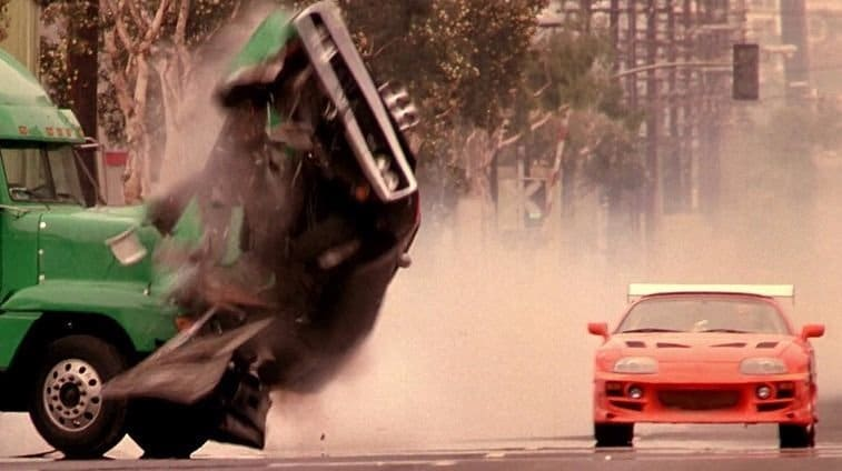 Zie alle 110 crashes van Fast and Furious 1 t/m 6