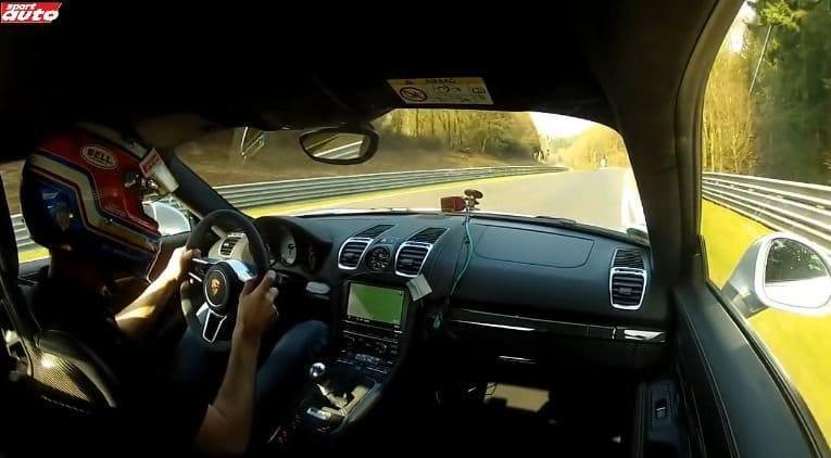 Porsche Cayman GT4 Nordschleife Lap