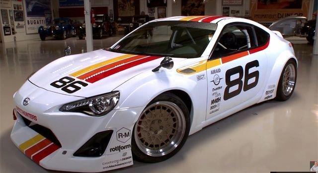 Jay Leno's Garage - Speedhunters Scion FR-S