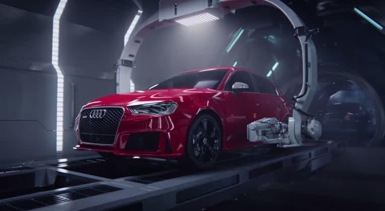 Zo wordt een Audi RS3 'geboren'