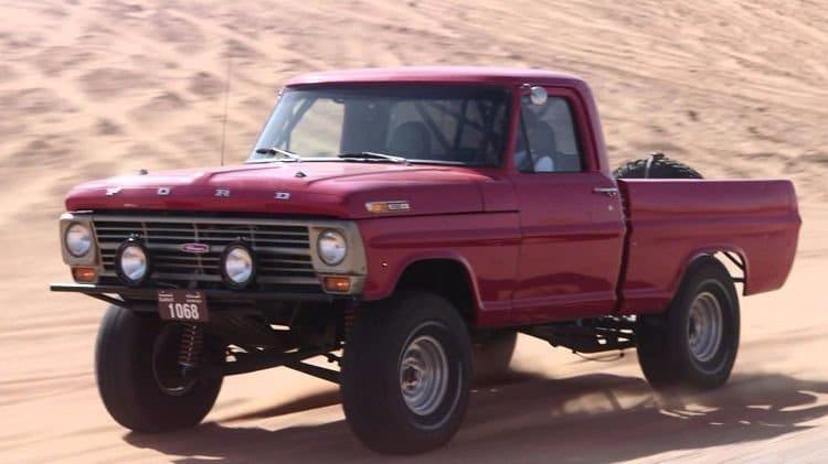 Video Big Muscle - 43 Jaar Oude Ford Pick-Up Kickt Ass-5033