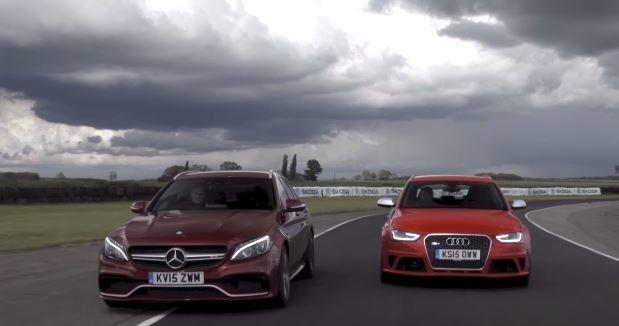 Mercedes-AMG C63 Estate of Audi RS4 Avant?