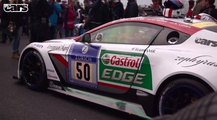 Chris Harris rijdt GT12 naar de Ring om er daarna de N24 mee te rijden