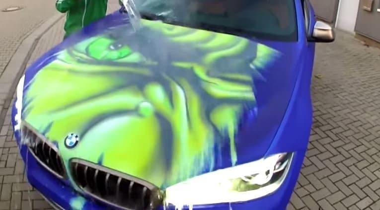 Deze BMW X6 veranderd in The Hulk