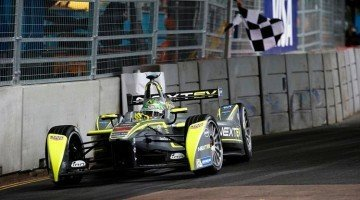 Formule E 2015 - Piguet Jr wint titel in London