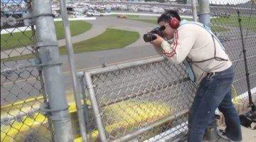 NASCARS fotograferen is best spannend