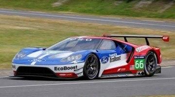 Nieuwe Ford GT Raceauto betrapt in Canada