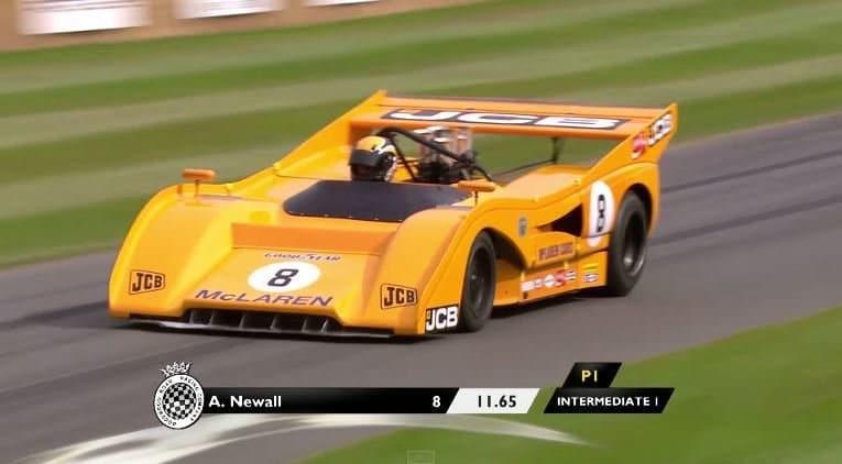 Dit waren de snelste raceauto's op Goodwood 2015