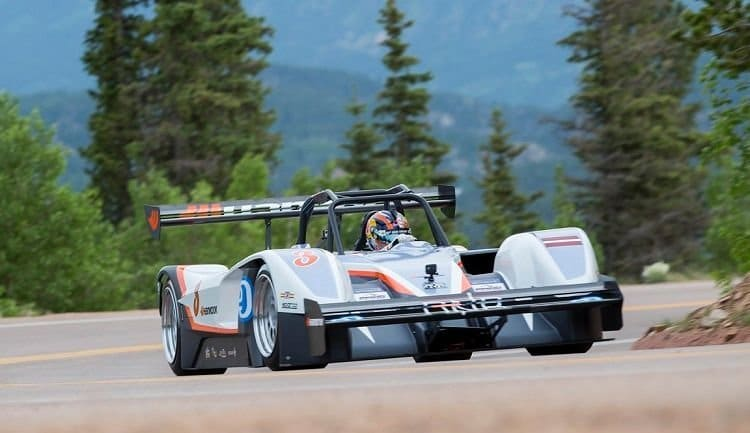 Rhys Millen's winnende 2015 Pikes Peak Run