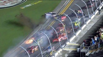 The Big One kwam na de finish van de Daytona 400