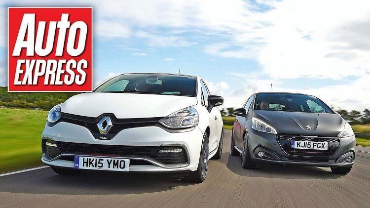 Renault Clio RS 220 Trophy vs Peugeot 208 GTi-compressed