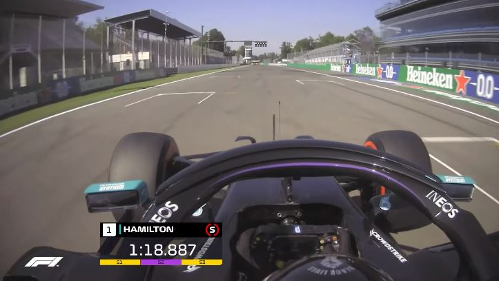 Formule 1 - Monza Lap Record