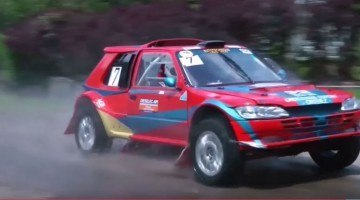Peugeot 205 Rally met wankelmotor
