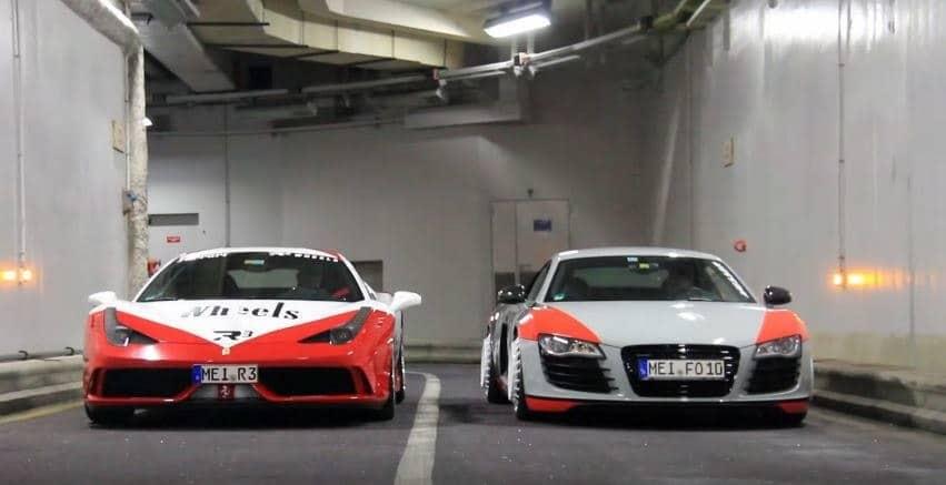 Ferrari 458 Speciale & Audi R8