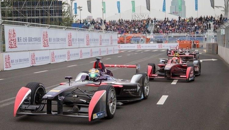 Formule E Bejing 2015 highlights