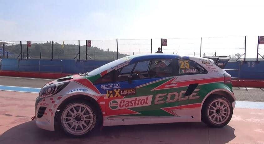 Kia Rio Rallycross