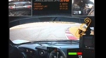McLaren P1 GTR Onboard