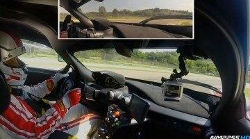 Onboard Ferrari FXX K