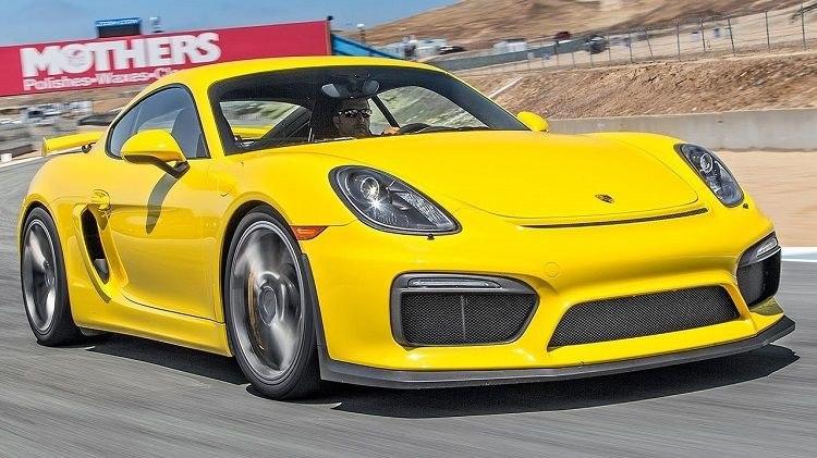 Porsche Cayman GT4 Laguna Seca