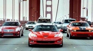 Top Gear Muscle Car roadtrip