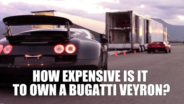 Veyron Super Sport onderhoudskosten