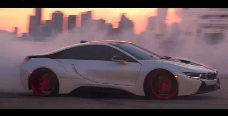 BMW I8 Drifting