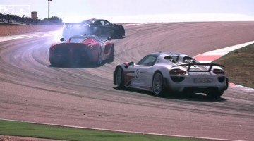 Chris Harris supertest LaFerrari, McLaren P1, Porsche 918 Spyder