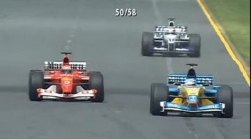 F1 Battle Melbourne 2002