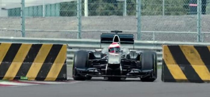 Jenson Button op de millimeter
