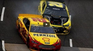 Matt Kenseth vs Joey Logano