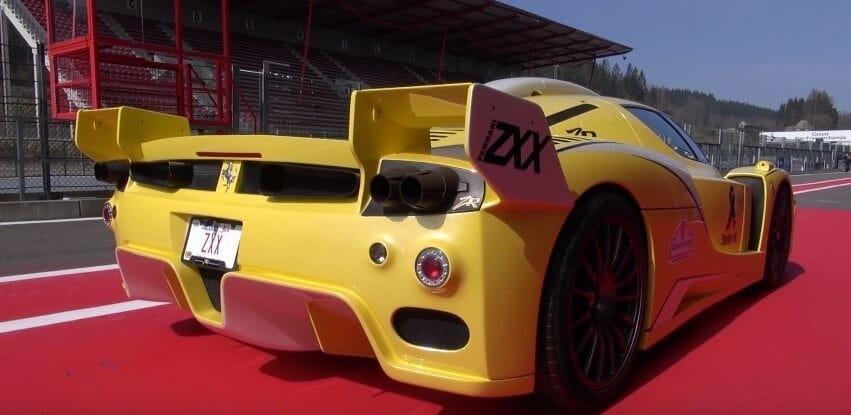Ferrari Enzo ZXX te luidruchtig