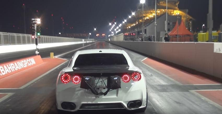 Ekanoo Racing's Nissan GT-R World Record