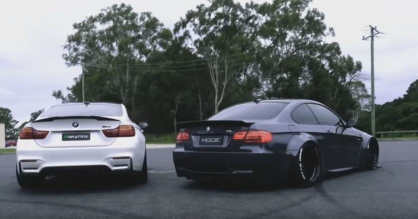 Armytrix BMW M4 vs Armytrix BMW E92 M3