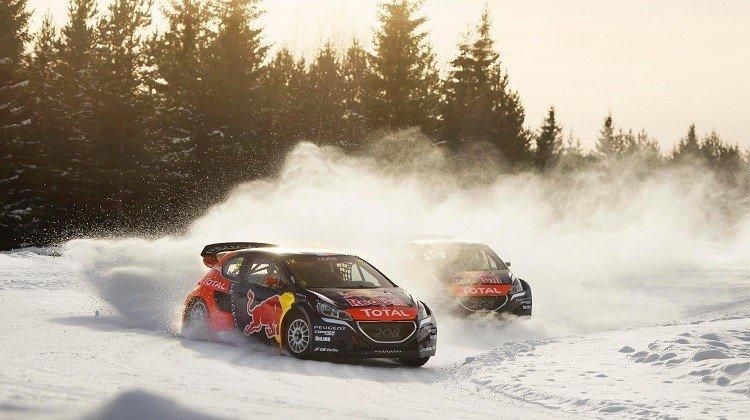 Loeb Rallycross
