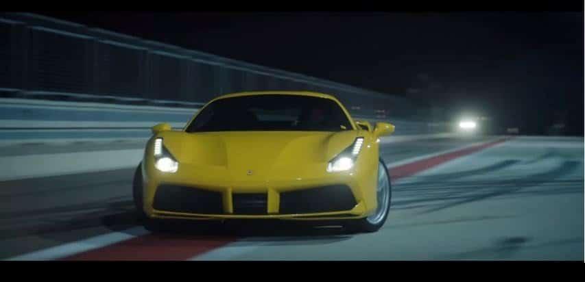 Ferrari 488 GTB Drifting