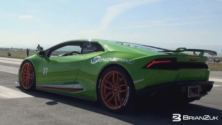 Supercharged Lamborghini Huracan