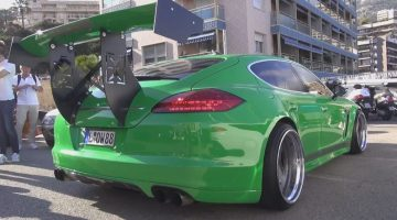 Dikste Porsche Panamera ooit