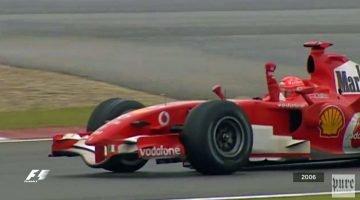 Tien jaar geleden won Schumacher zijn laatste GP in Shanghai