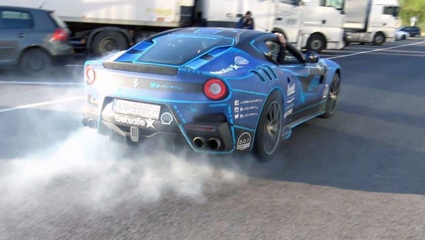 Ferrari F12tdf Gumball 3000