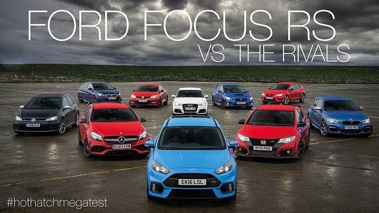 Ultieme Hot Hatch Test van 2016