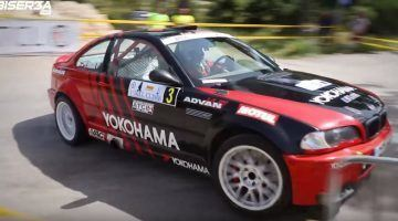 BMW trapt aardig door tijdens Libanese Hillclimb