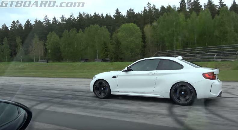 De nieuwe M2 is net zo snel als een E90 M3 V8
