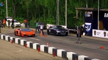 Audi RS7 vs Lamborghini Aventador