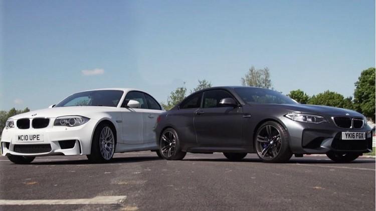 BMW M2 vs BMW 1M Coupé