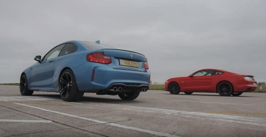 BMW M2 vs Ford Mustang GT