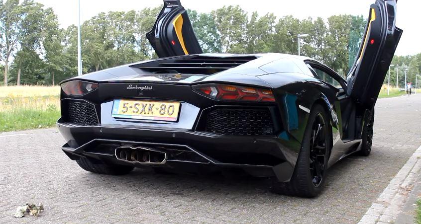 Lamborghini Aventador Capristo Carbon Exhaust