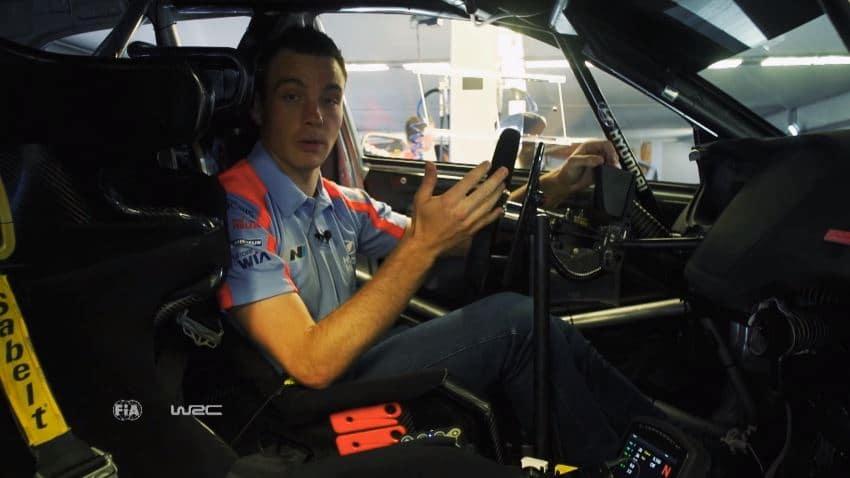 WRC-stuur anno 2012