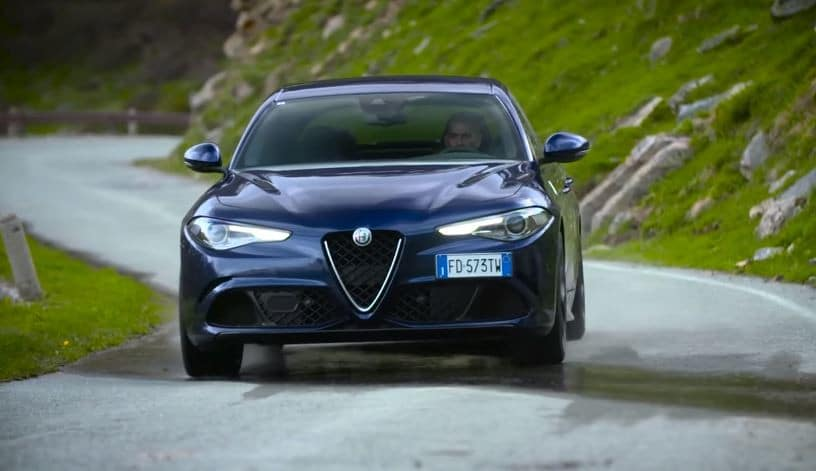 Chris Harris test de Alfa Romeo Giulia Quadrifoglio